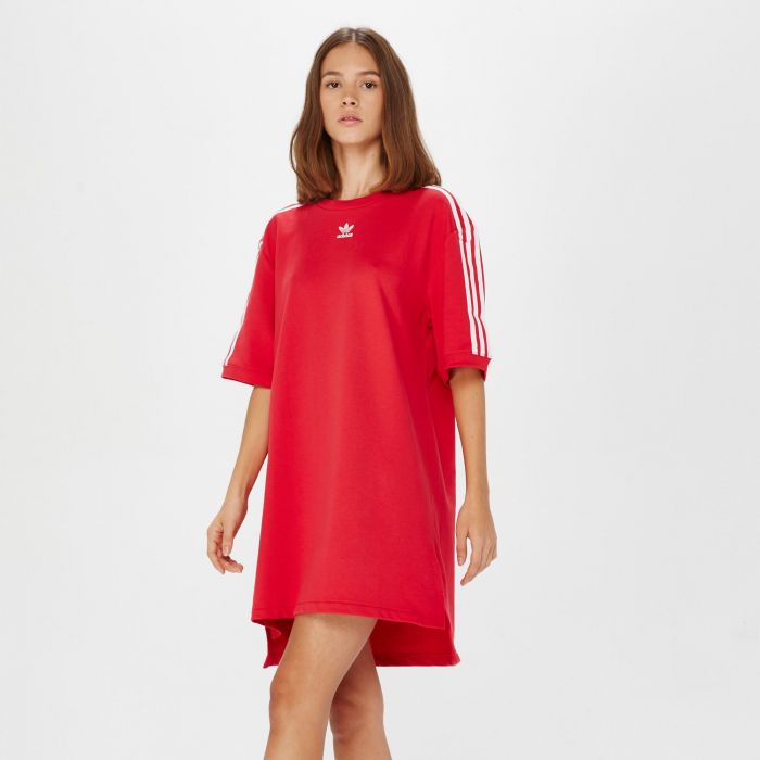 densidad Absolutamente Ascensor  VESTIDO ADIDAS TEE DRESS ROSA 337 ROSA