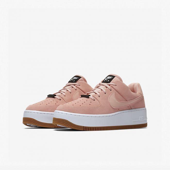 mujer zapatillas nike air force rosa