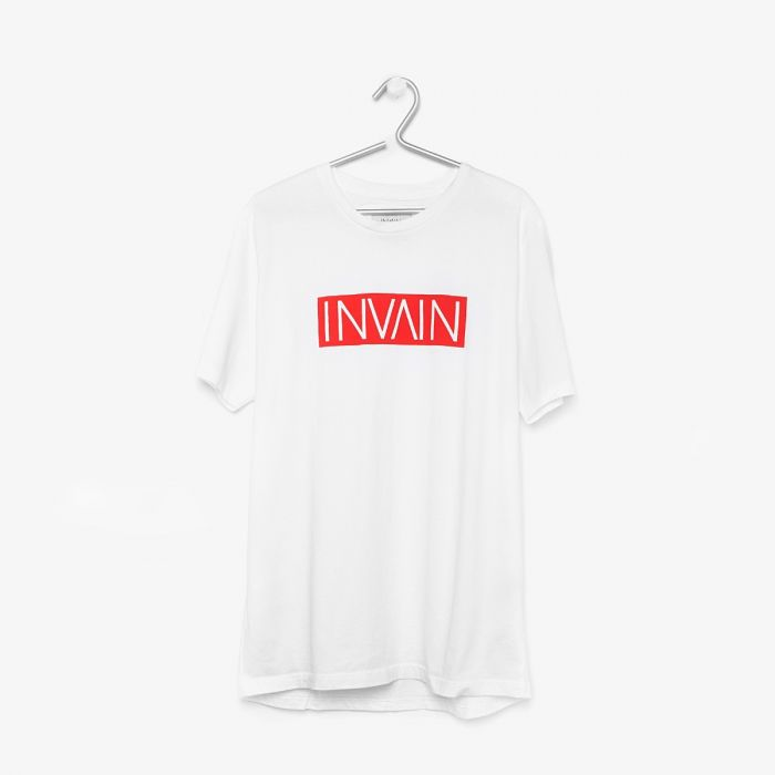 CAMISETA INVAIN MN WHITE/CAMO