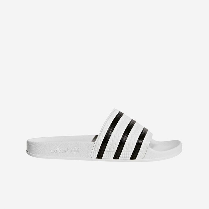 CHANCLA ADIDAS ADILETTE WHITE/BLACK
