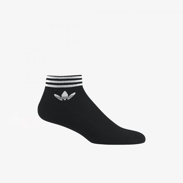 CALCETIN ADIDAS TREFOIL PACK-3 BLACK