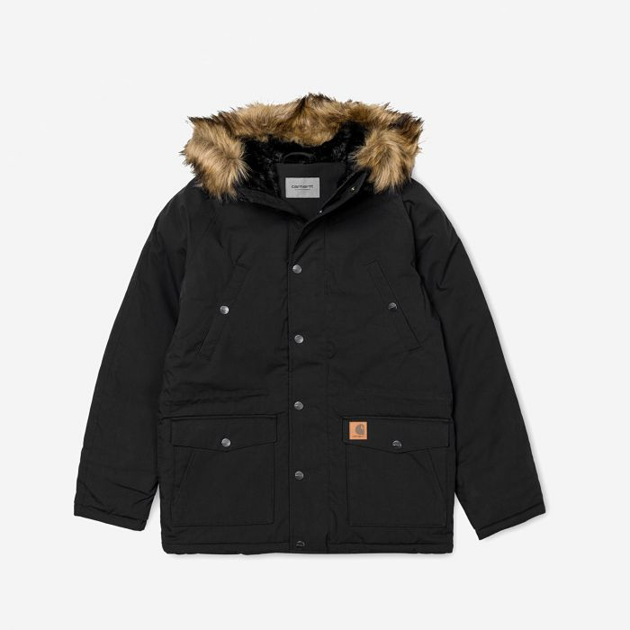 CAZ.TRAPPER POLY-COTTON BLACK-BLACK