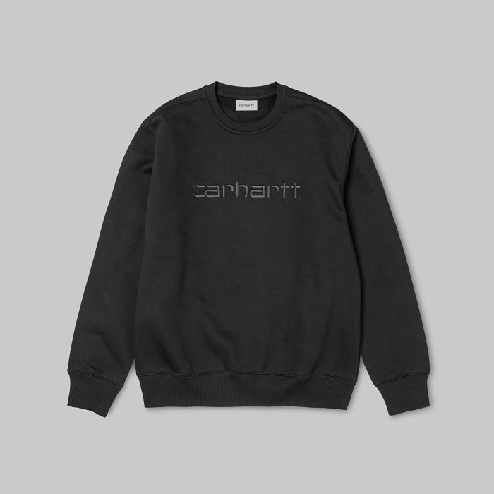 SUDADERA CARHARTT COTTON-POLY BLACK
