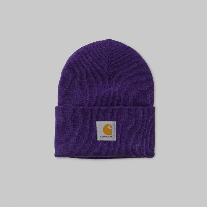 GORRO ACRYLIC WATCH HAT FROSTED VIOLA HEATHER