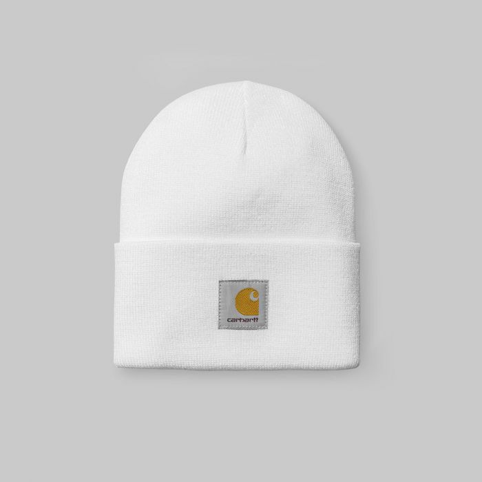 GORRO ACRYLIC WATCH HAT WHITE
