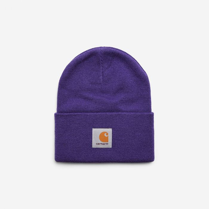 GORRO ACRYLIC WATCH HAT FROSTED VIOLA