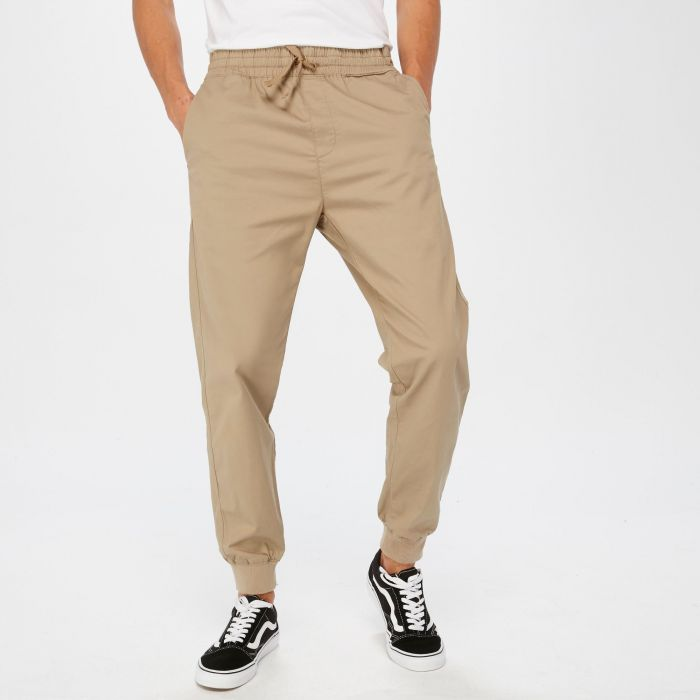 PANTALON CARHARTT MADISSON JOGGER LEATHER RINSED