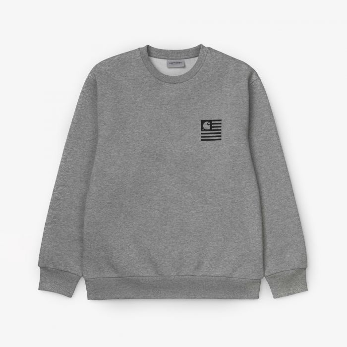 SUDADERA CARHARTT INCOGNITO GREY HEATHER