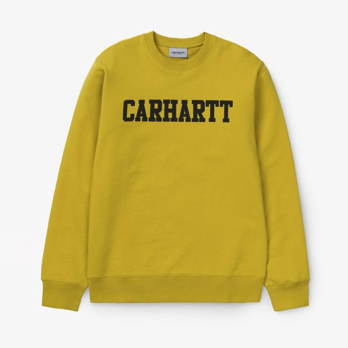 SUDADERA CARHARTT COLLEGE COTTON COLZA