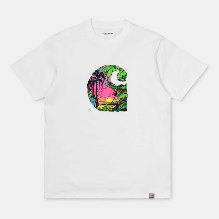 CAMISETA CARHARTT SUNSET WHT
