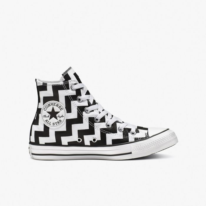 ZAPATILLA CONVERSE ALL STAR GLAM DUNK HI WHITE-BLACK