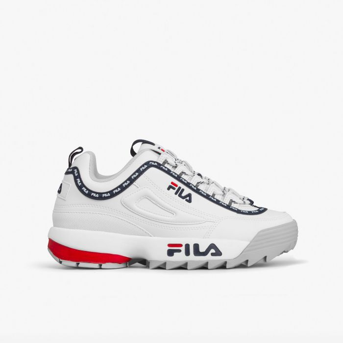 ZAPATILLA FILA DISRUPTOR WM LOGO WHITE
