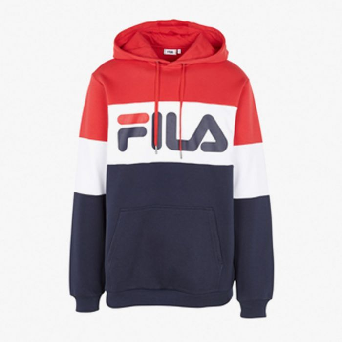 SUDADERA FILA STRAIGHT BLOCKED MN