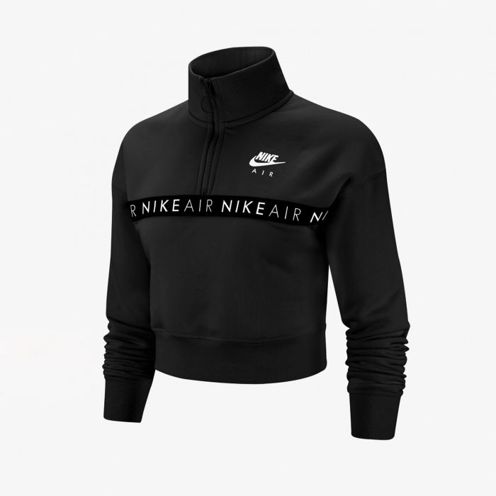 SUDADERA NIKE AIR TOP HZ BB BLACK