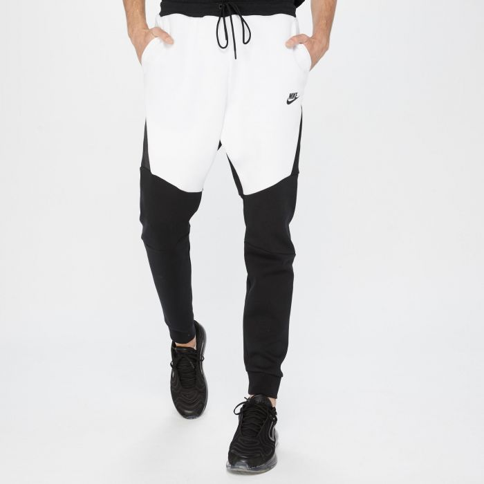 PANTALON NIKE TECH FLEECE JOGGER WHITE-BLACK