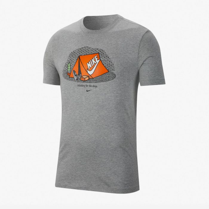 CAMISETA NIKE THE DROP GREY