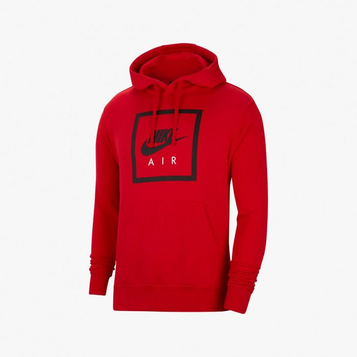 SUDADERA NIKE AIR MN PULLOVER RED