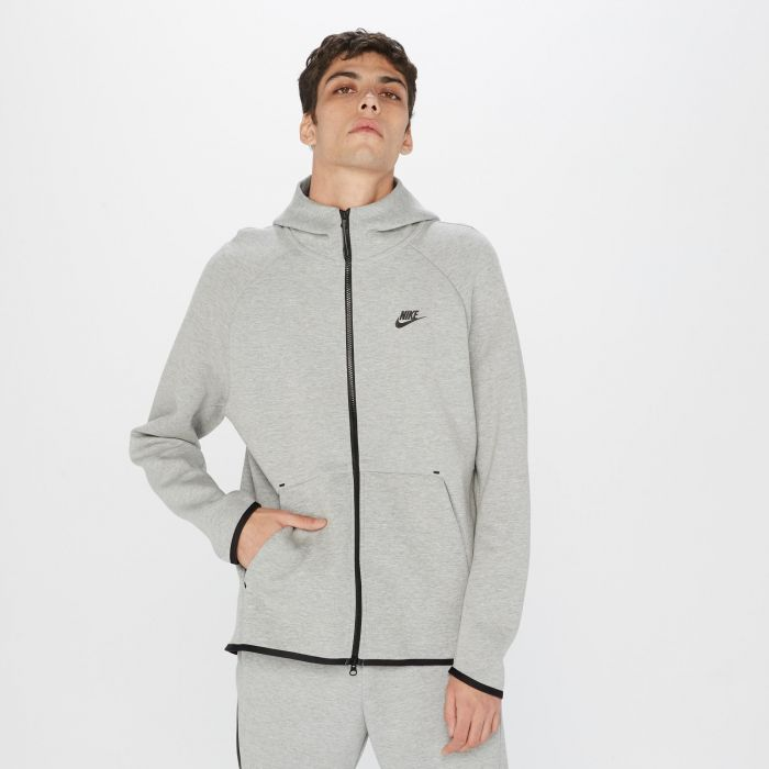 SUDADERA NIKE TECH FLEECE F GREY