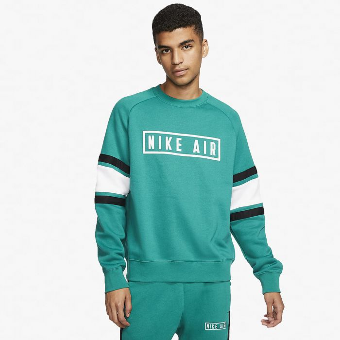 SUDADERA NIKE AIR BLOCK FLEECE GREEN