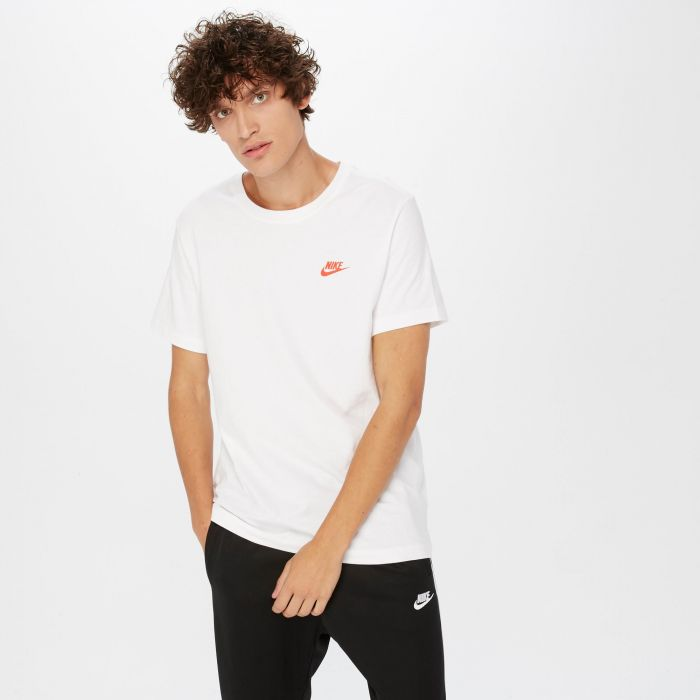 CAMISETA NIKE SPORTSWEAR WHITE/RED