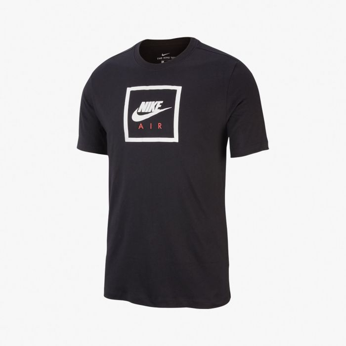 CAMISETA NIKE AIR MN BLACK/WHITE