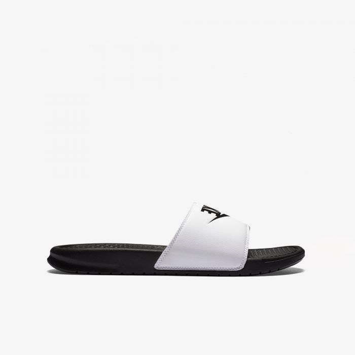 CHANCLA NIKE BENASSI BLACK/WHITE