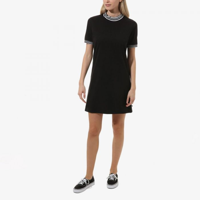 VESTIDO VANS HIGH ROLLER V BLACK