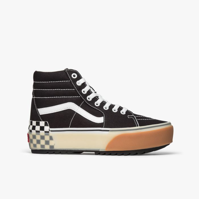 ZAPATILLA VANS SK8-HI-STACKED BLK-CHECKER