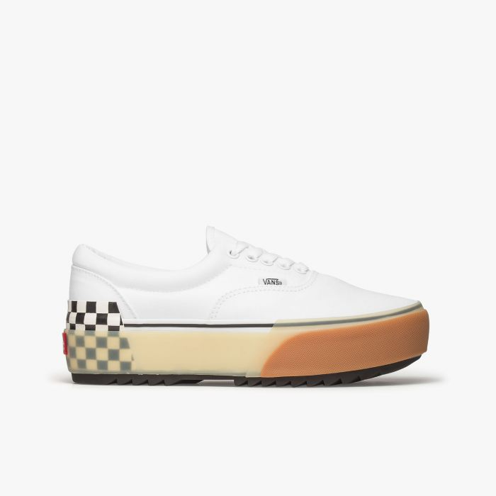 ZAPATILLA VANS ERA STACKED WHT-CHECKER